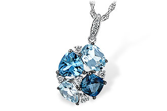 K216-37367: NECK 2.60 BLUE TOPAZ 2.70 TGW